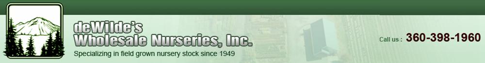 deWilde's Wholesale Nurseries, Inc.